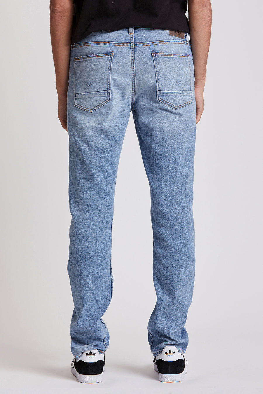 Hudson Jeans Mens Byron 5 Pkt Straight Zip Fly Denim