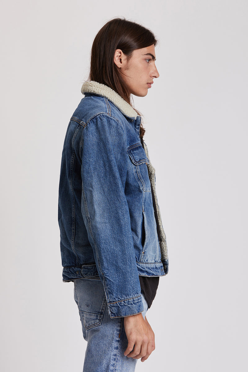 Classic Denim Trucker Jacket