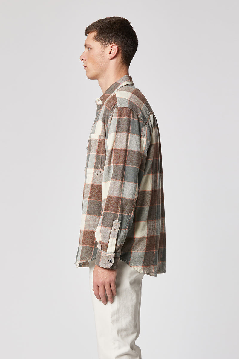 Oversized Long Sleeve Workshirt