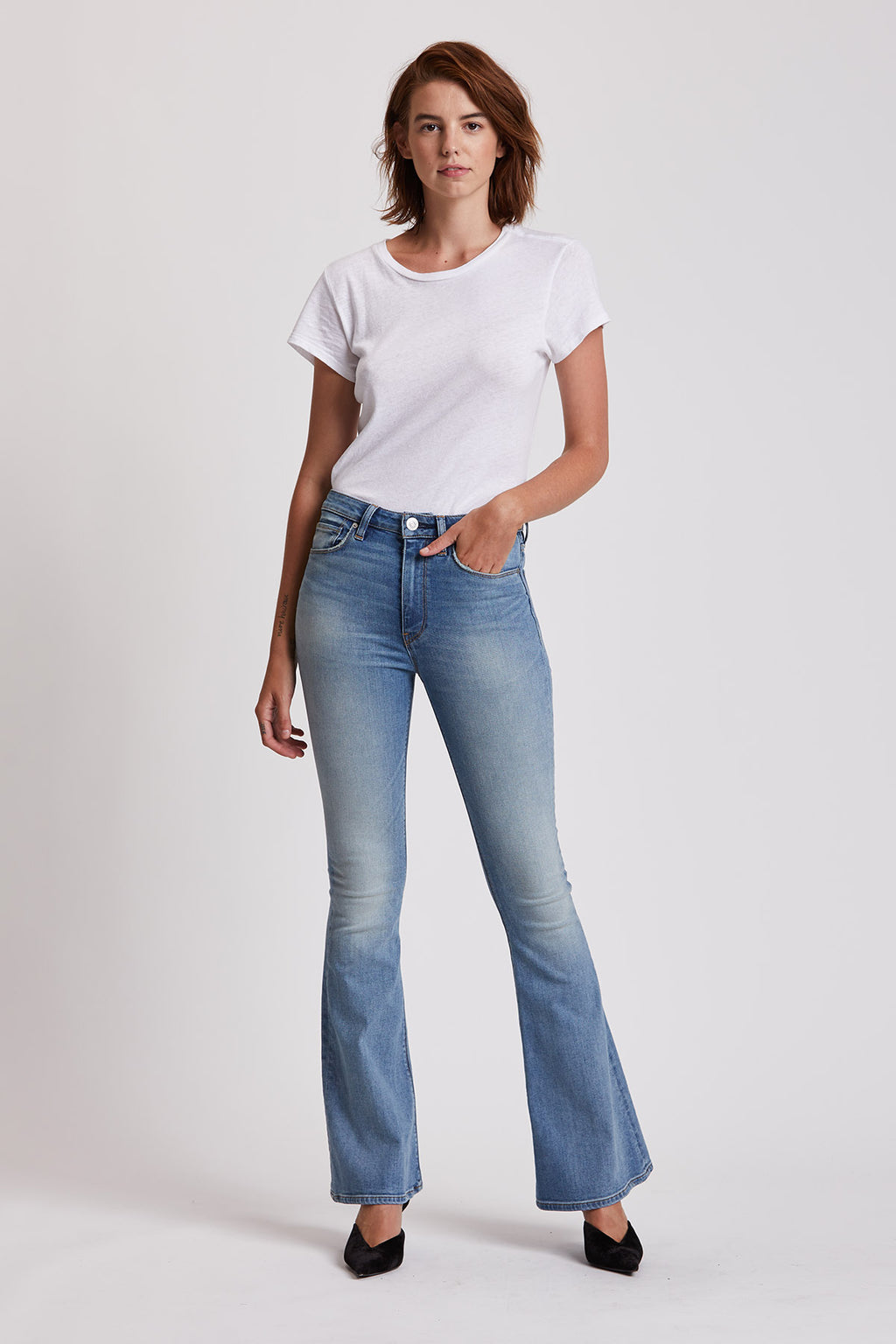 Holly High-Rise Flare Jean