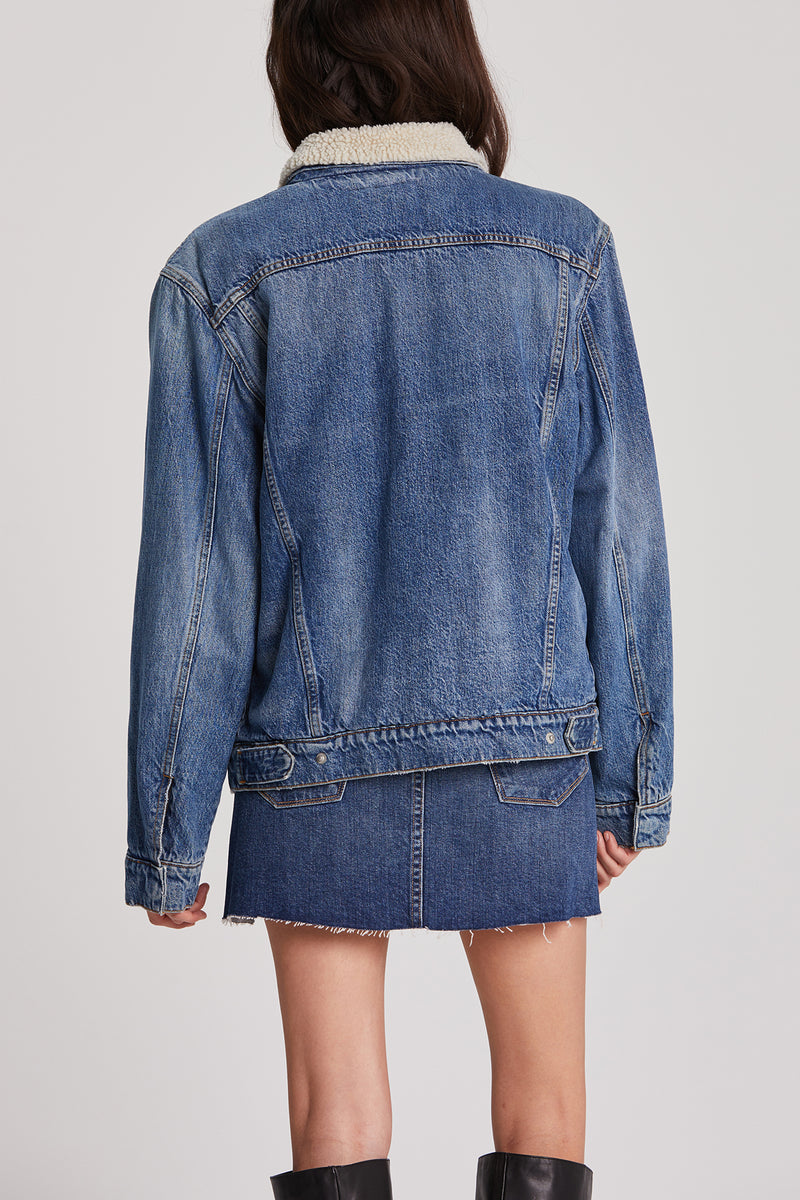 Unisex Classic Denim Trucker Jacket