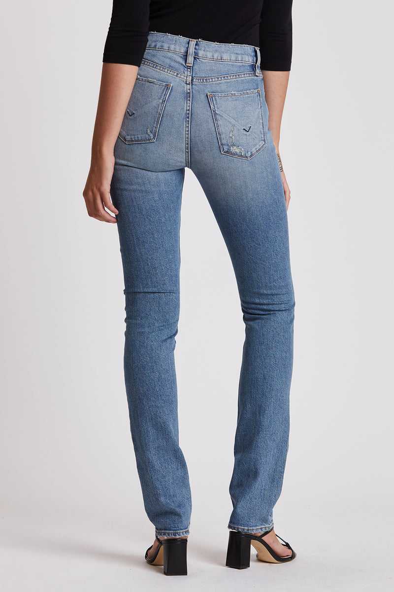 Holly High-Rise Straight Jean