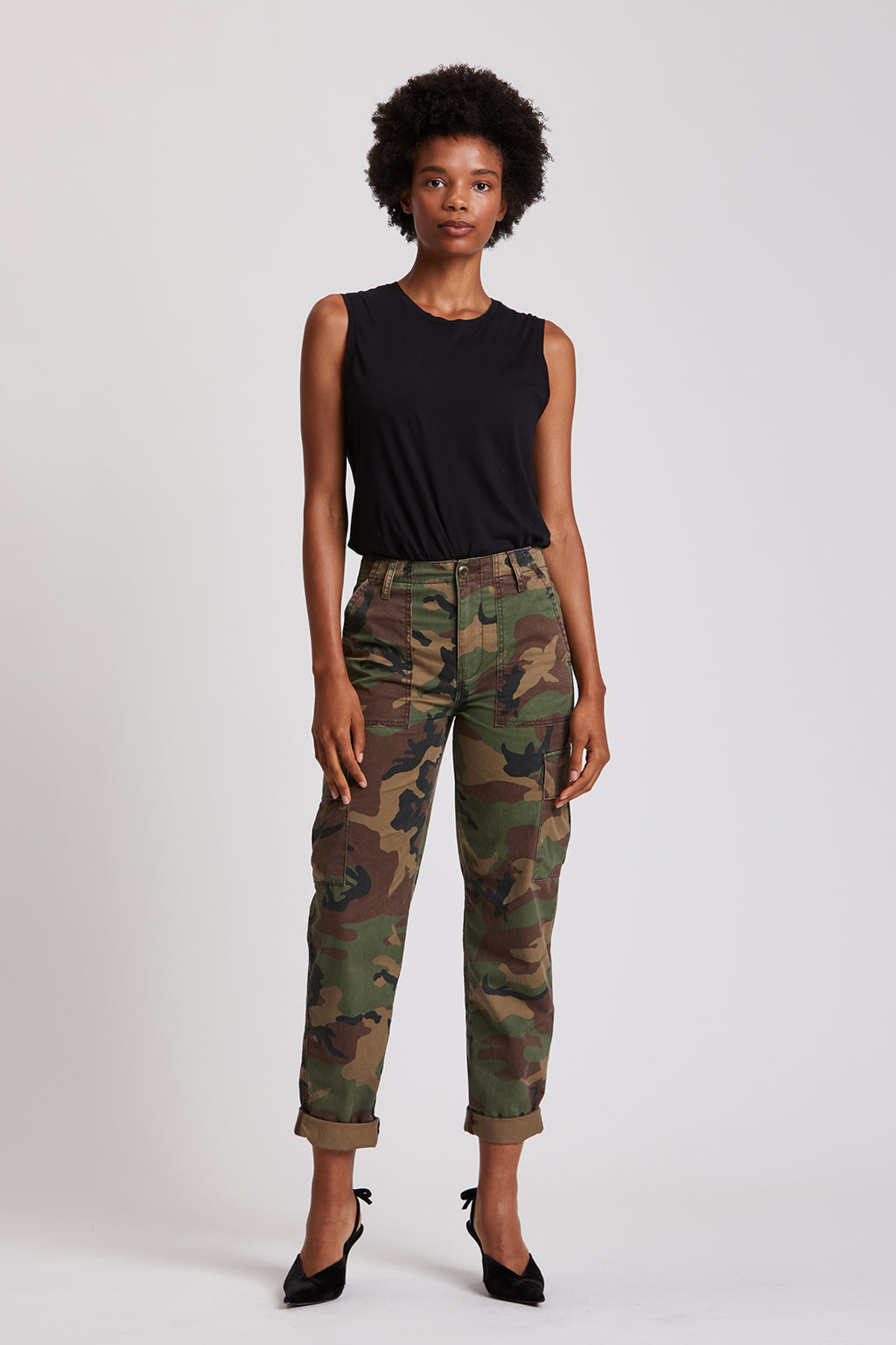 Classic High-Rise Cargo Pant