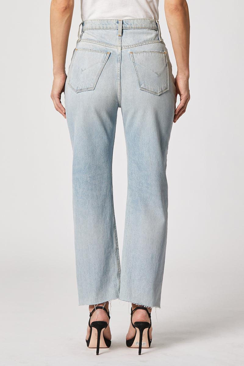 Elly Extended High-Rise Tapered Crop Jean