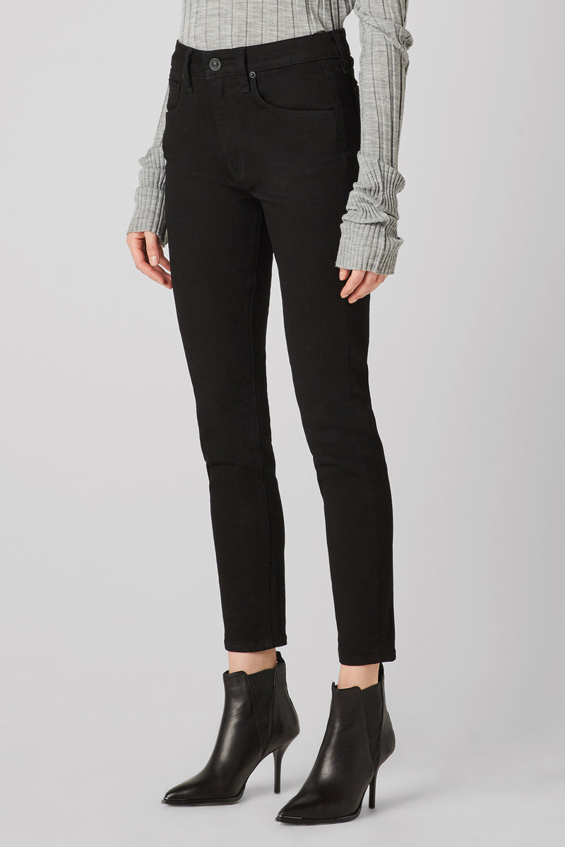 Barbara High-Rise Super Skinny Flap Jean