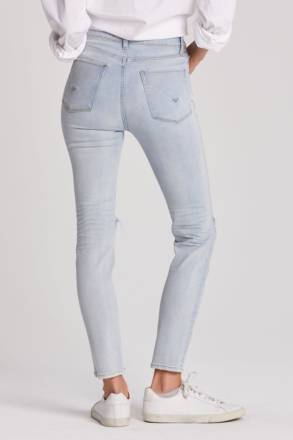 Holly High Rise Skinny Ankle