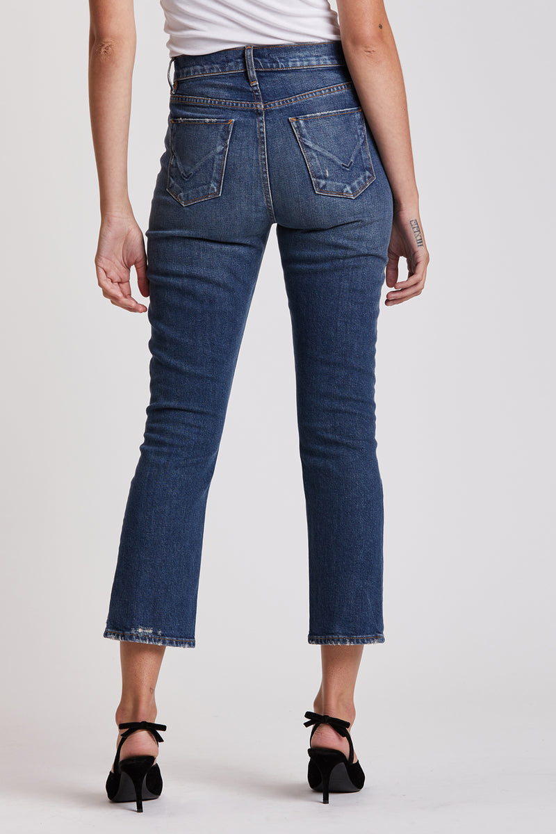 Holly High-Rise Crop Bootcut Jean