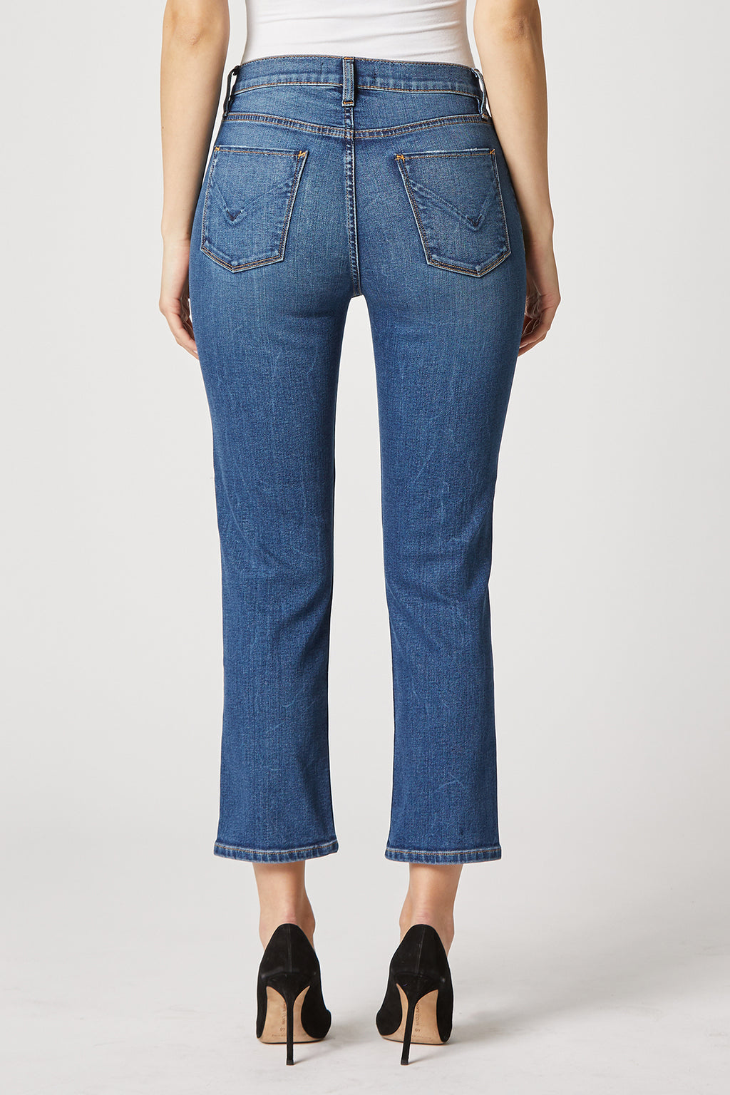 Barbara High-Rise Straight Crop Jean