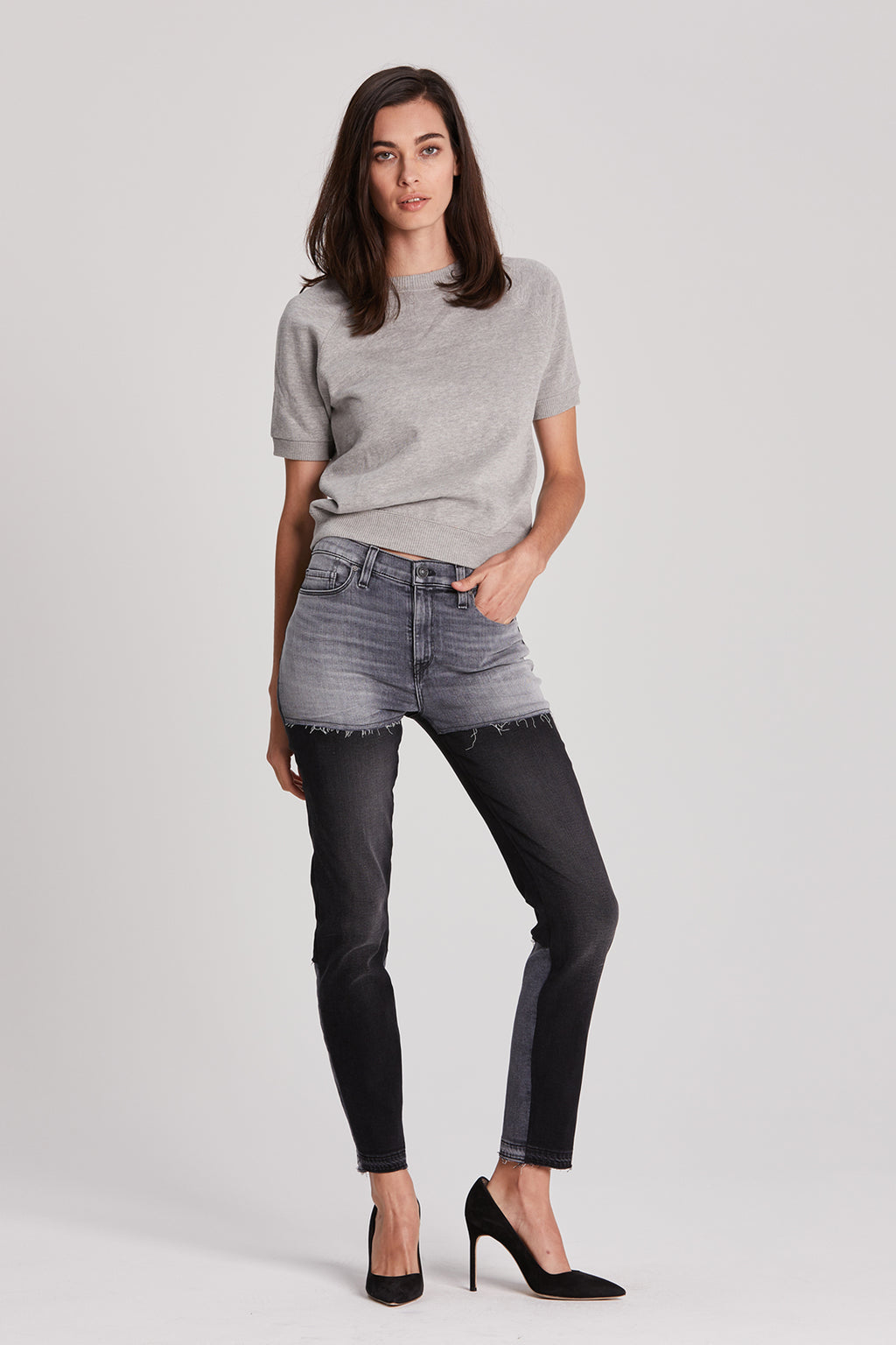 Barbara High-Rise Super Skinny Crop Jean