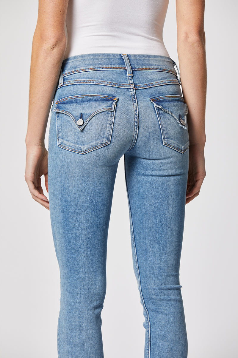 Beth Mid-Rise Baby Bootcut Jean