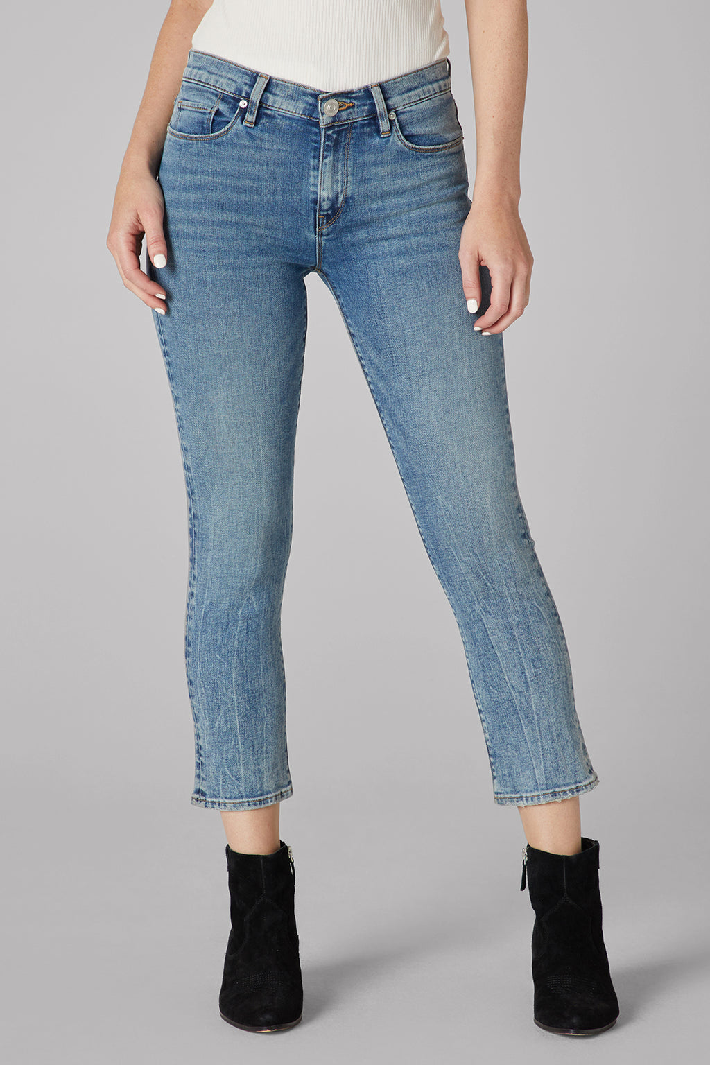 Nico Mid-Rise Straight Crop Jean