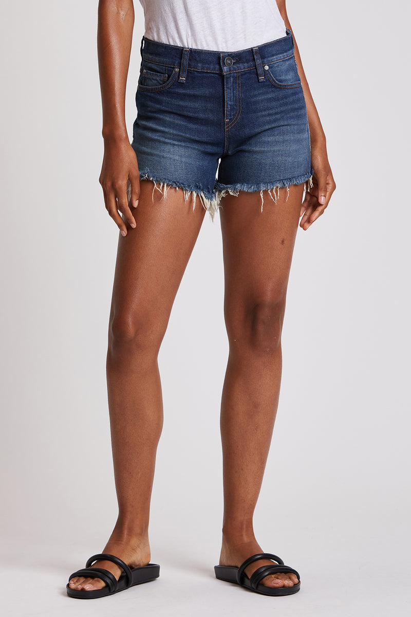 Gemma Mid-Rise Cut Off Short