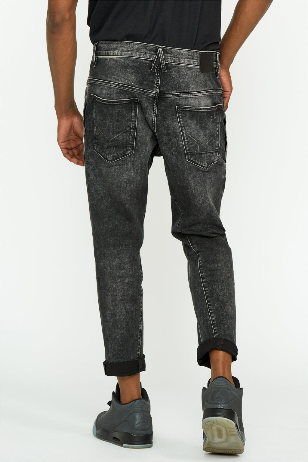 Coen Drop Crotch Slim Leg Jean