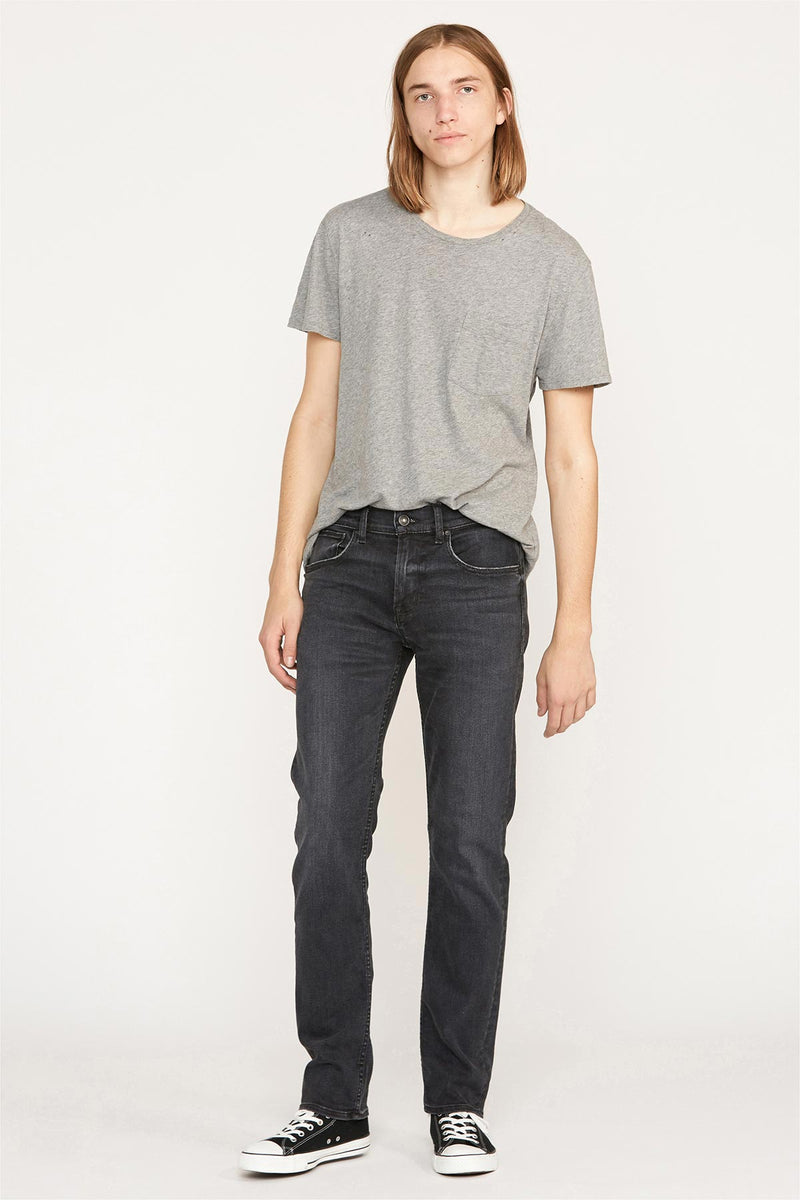 Nico Mid-Rise Exposed Front Zippers Super Skinny Jean