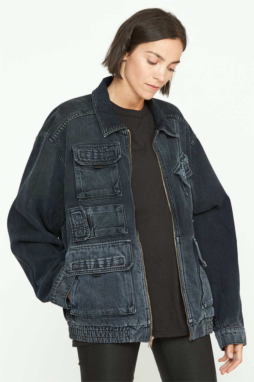 Unisex Denim Trucker Jacket - hudsonjeans
