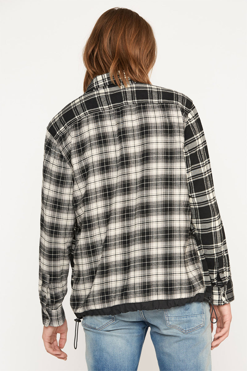 PLAID FLANNEL SHIRT - hudsonjeans