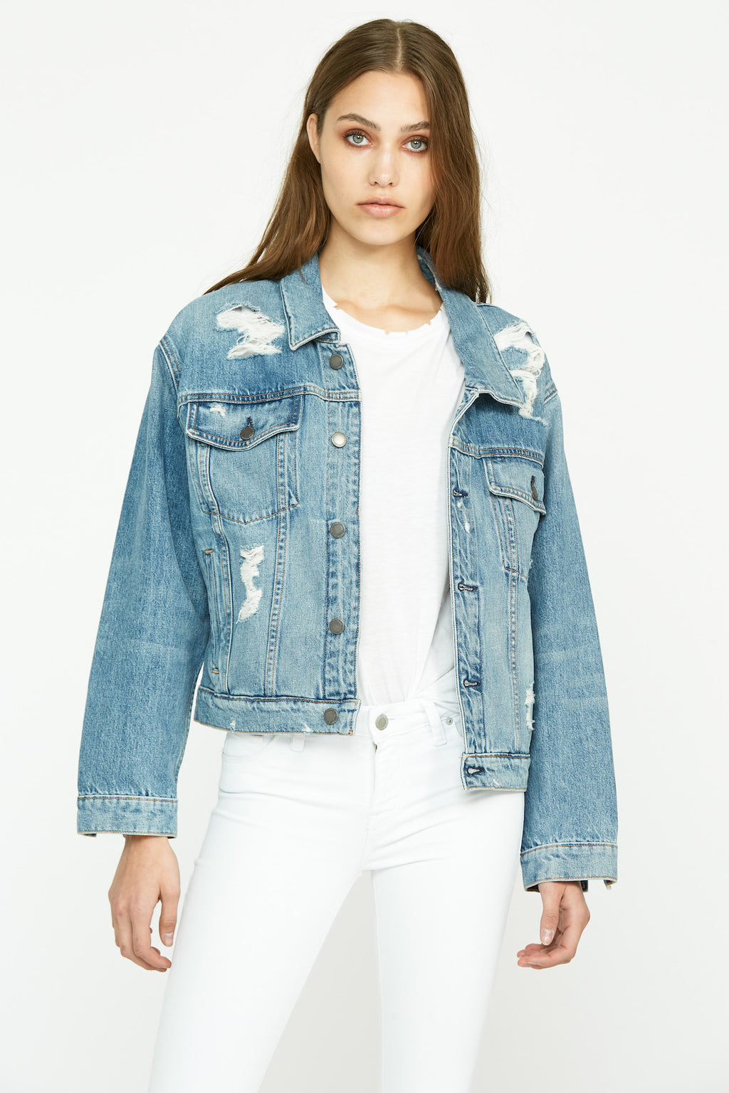 Reinvented Denim Jacket