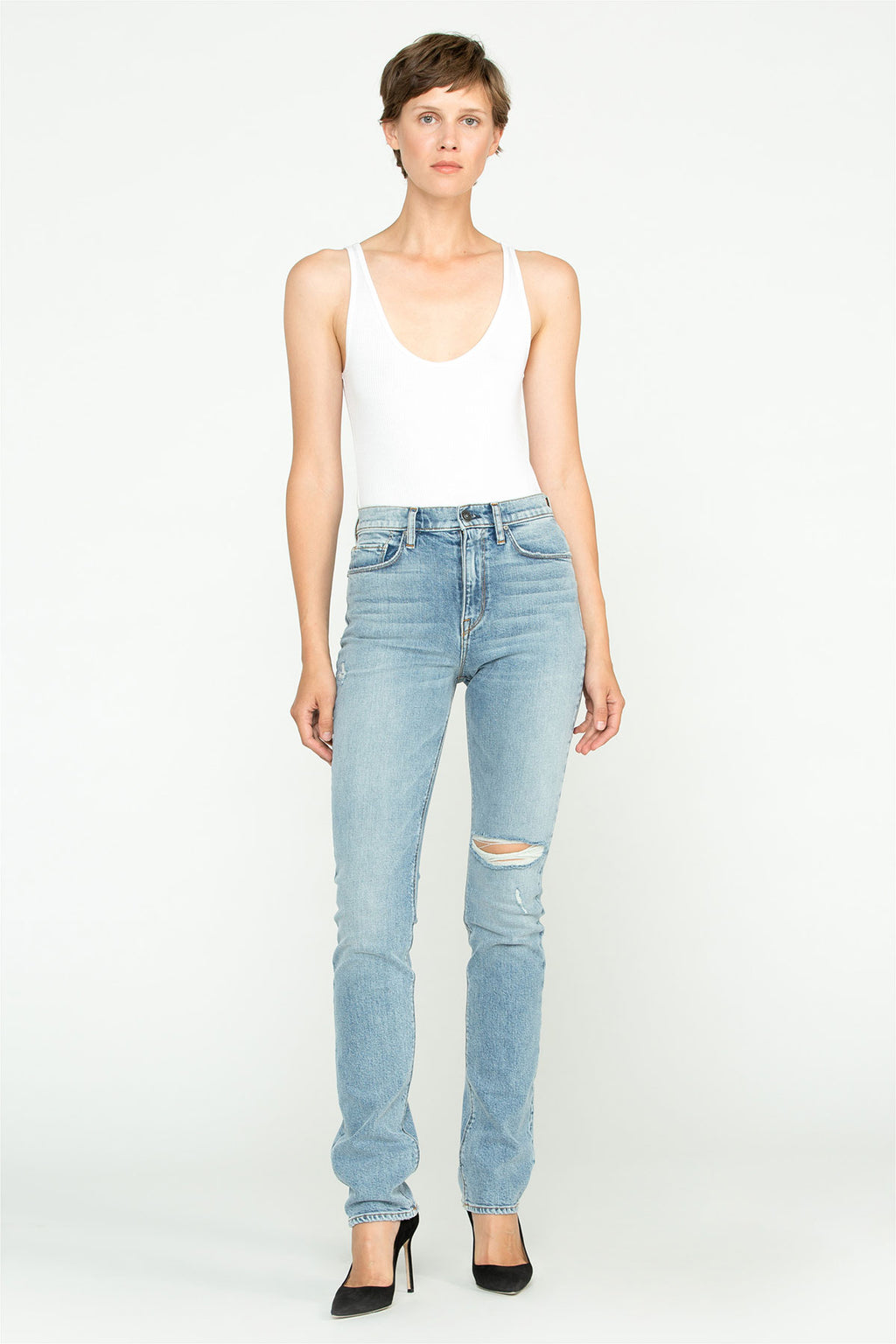 Holly High-Rise Straight Jean - hudsonjeans