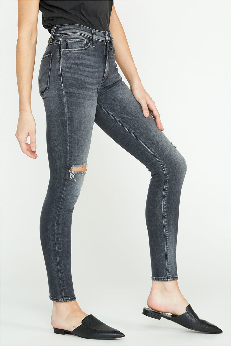 Barbara High-Rise Distressed Super Skinny Ankle Jean - hudsonjeans