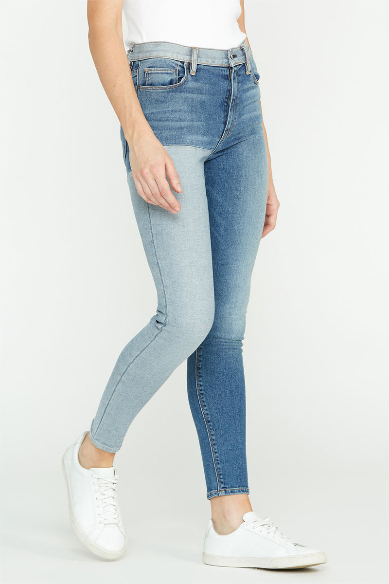 Barbara High-Rise Reverse Panel Super Skinny Jean - hudsonjeans