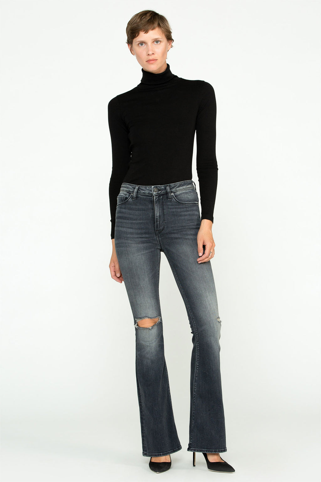 Holly High Rise Flare Jean