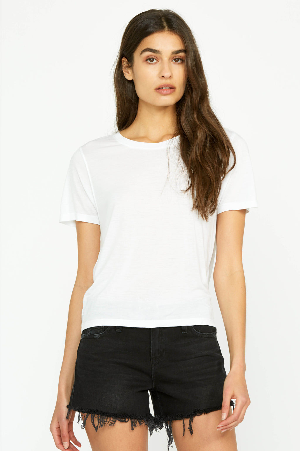 Short Sleeve Ruched Tee