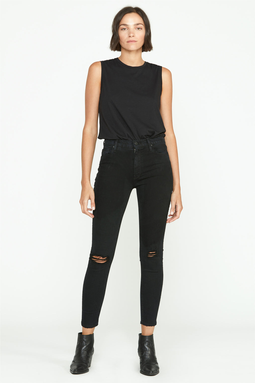 Barbara High-Rise Super Skinny Ankle Jean - hudsonjeans