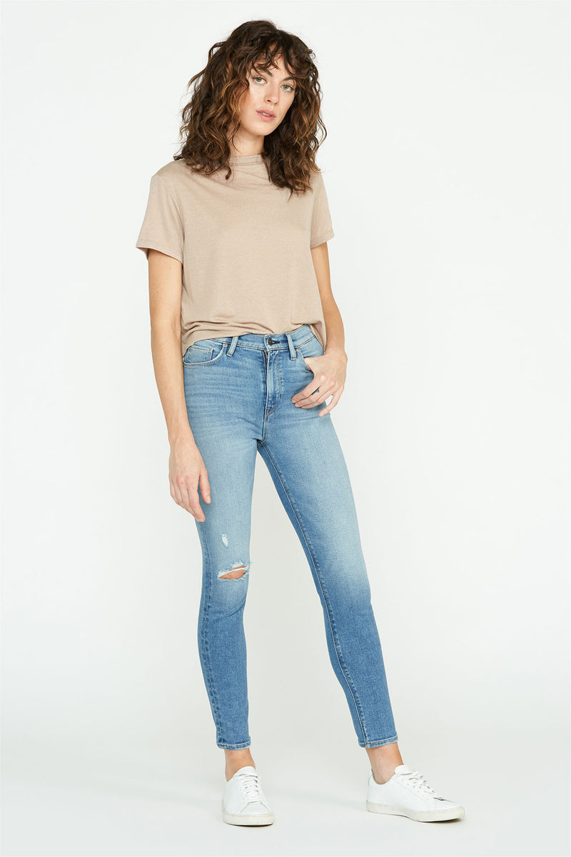 Nico Mid-Rise Straight Ankle Jean
