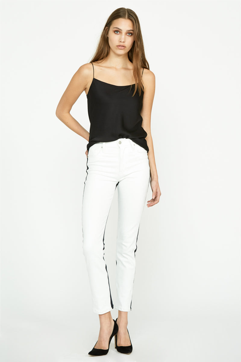 Holly High-Rise Crop Flare Jean