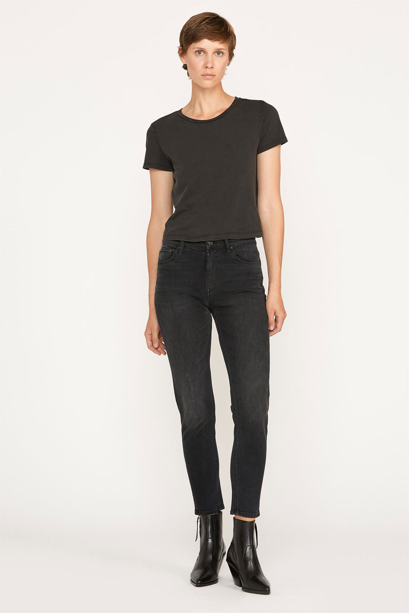 Holly High-Rise Straight Crop Jean
