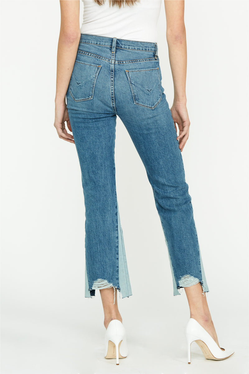 Holly High Rise Crop Flare Jean - hudsonjeans