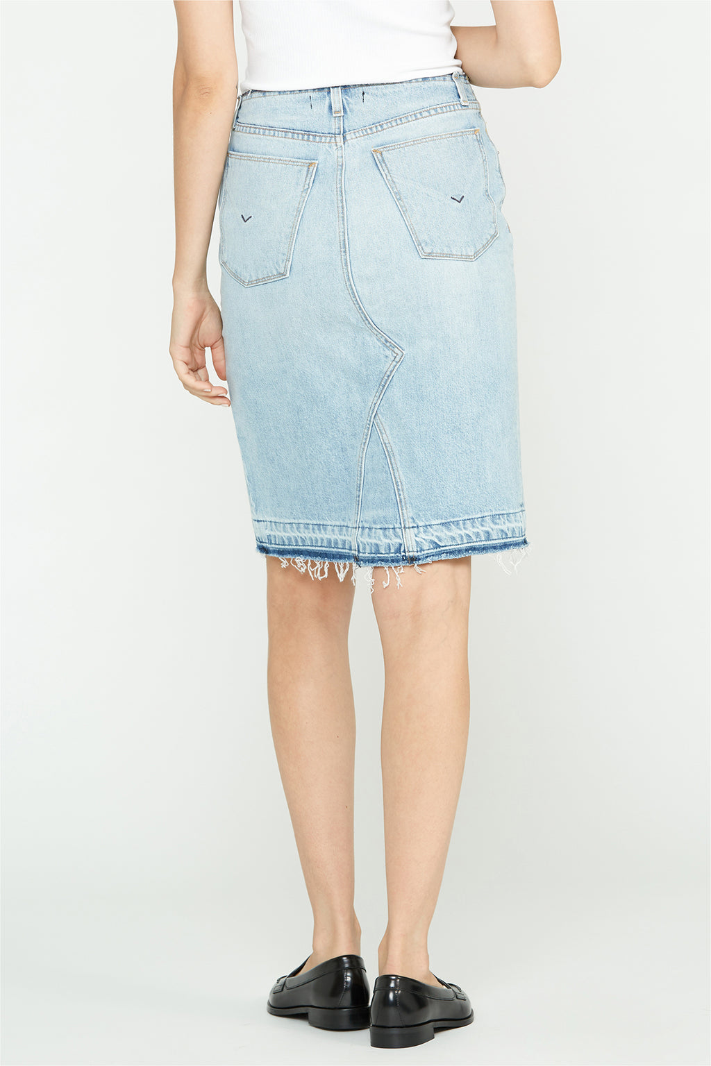 Sloane Baggy Denim Skirt - hudsonjeans