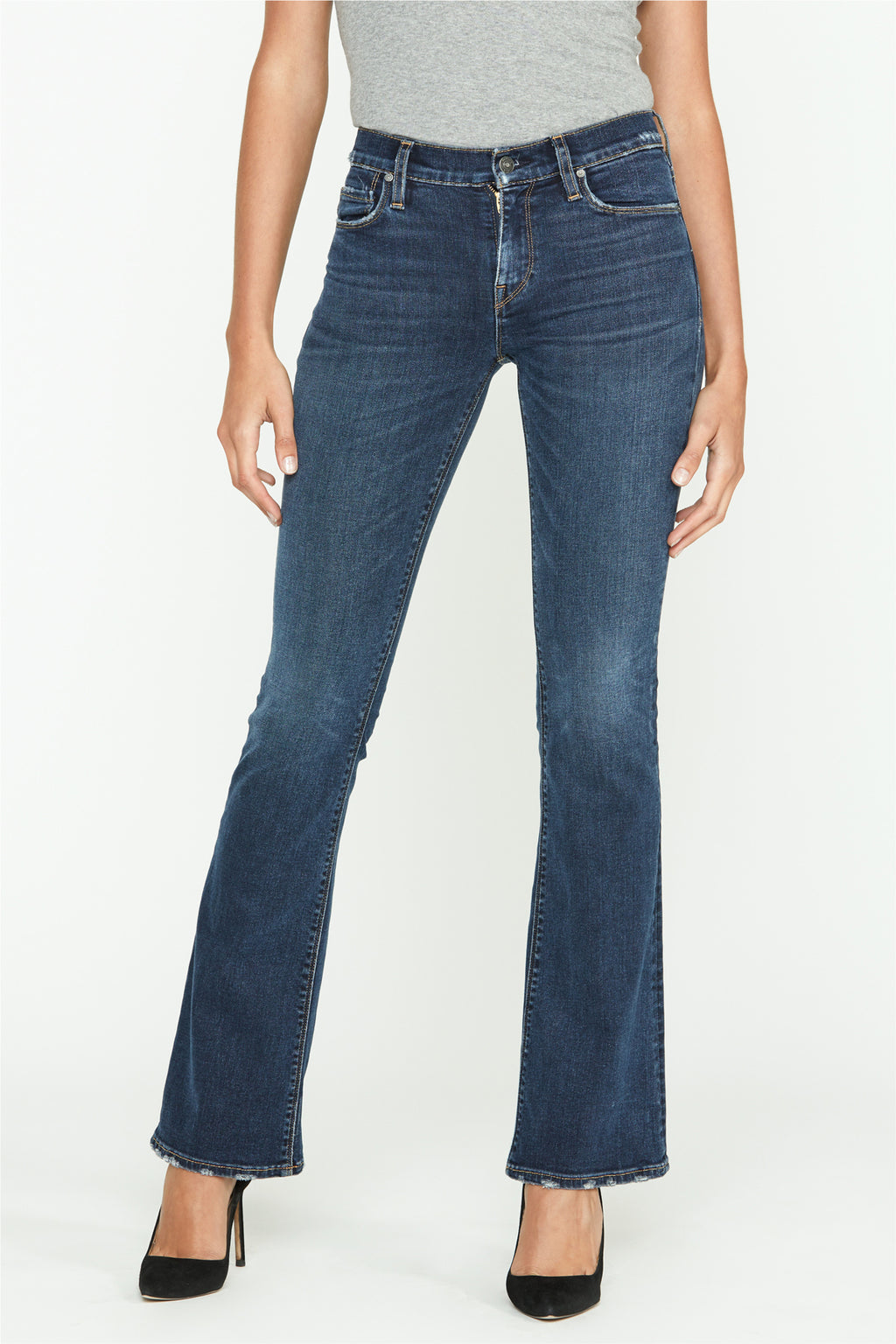 Nico Mid-Rise Bootcut Jean