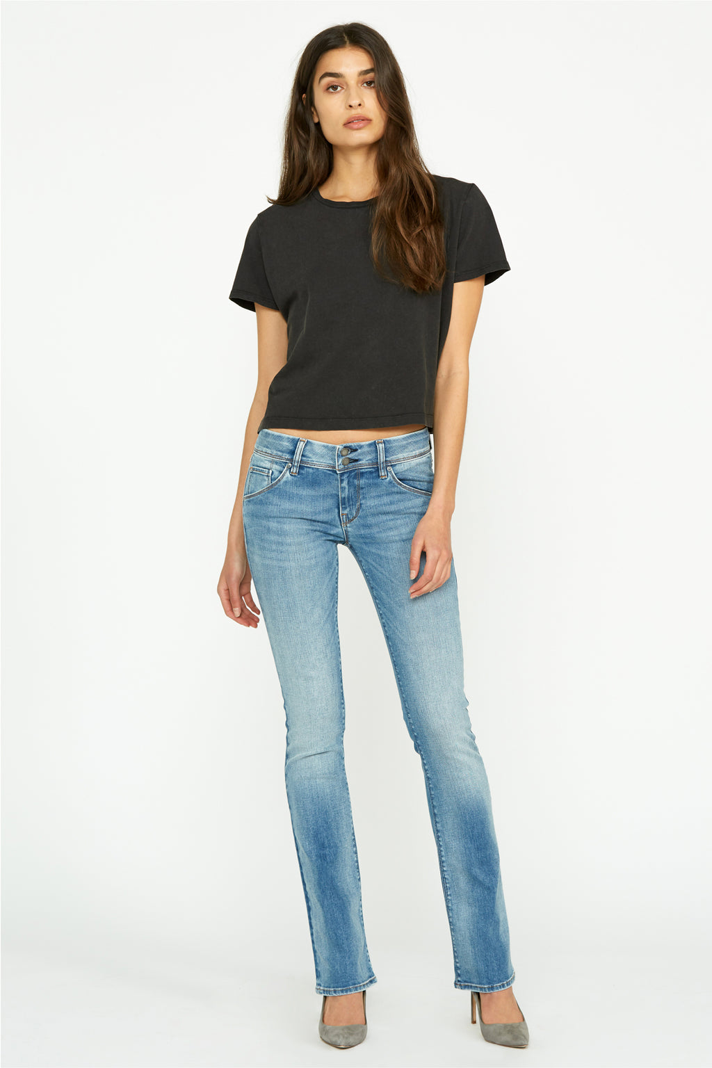 Beth Midrise Baby Bootcut Jean