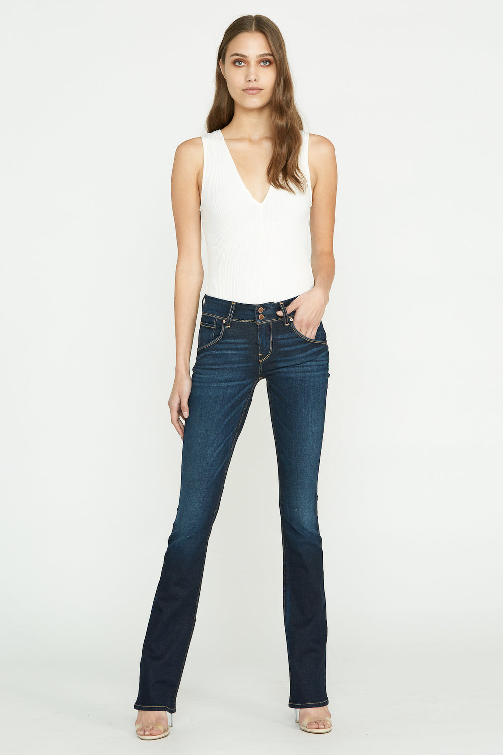 Beth Midrise Baby Bootcut Jean - hudsonjeans
