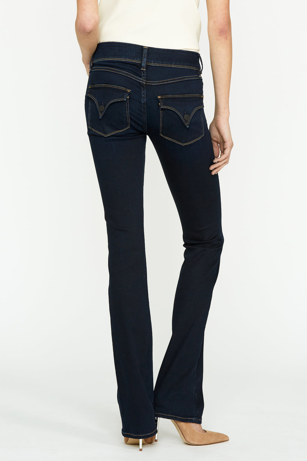 Beth Mid-Rise Baby Bootcut Jean - hudsonjeans