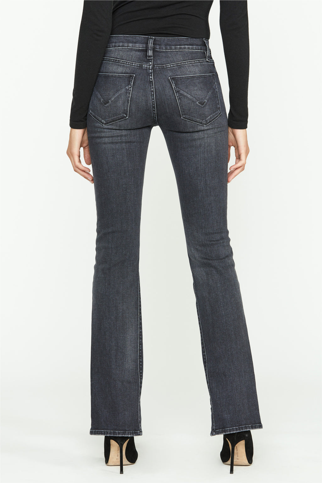 Nico Mid-Rise Front Slit Straight Jean - hudsonjeans
