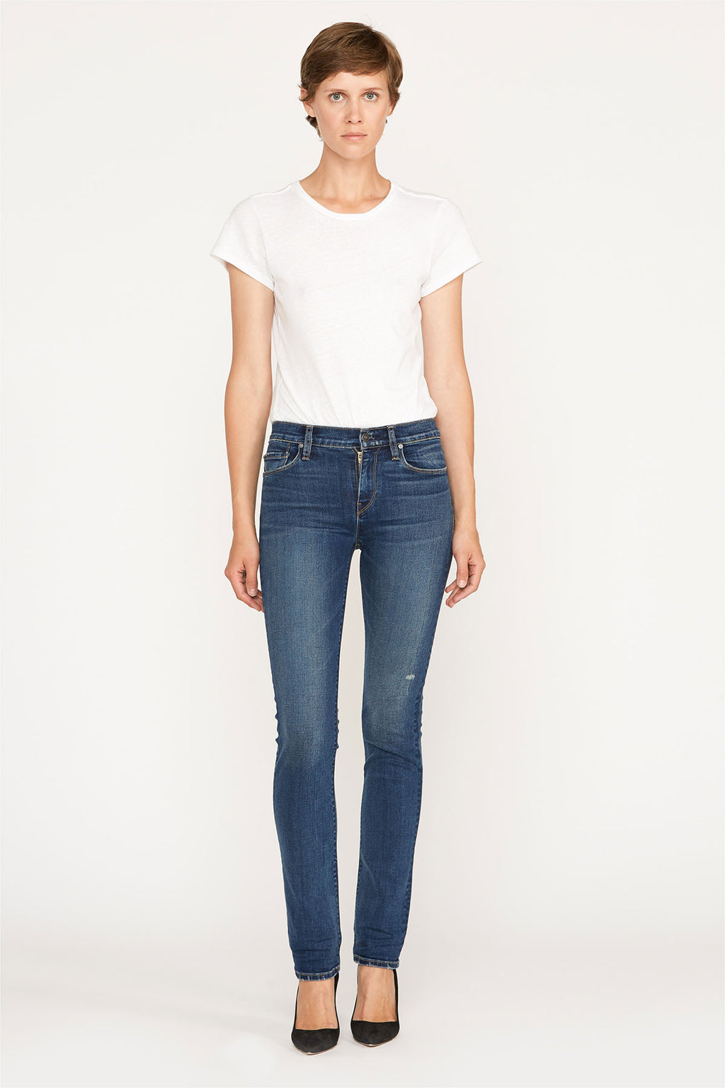 Nico Mid-Rise Straight Jean - hudsonjeans