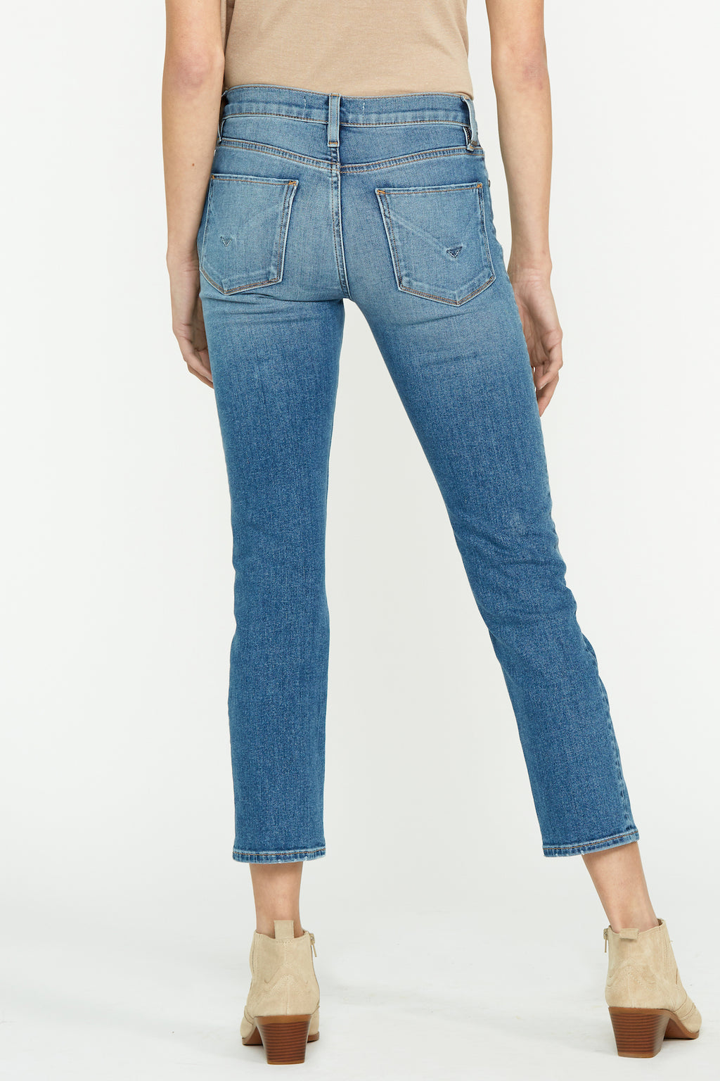 Nico Mid-Rise Straight Ankle Jean - hudsonjeans