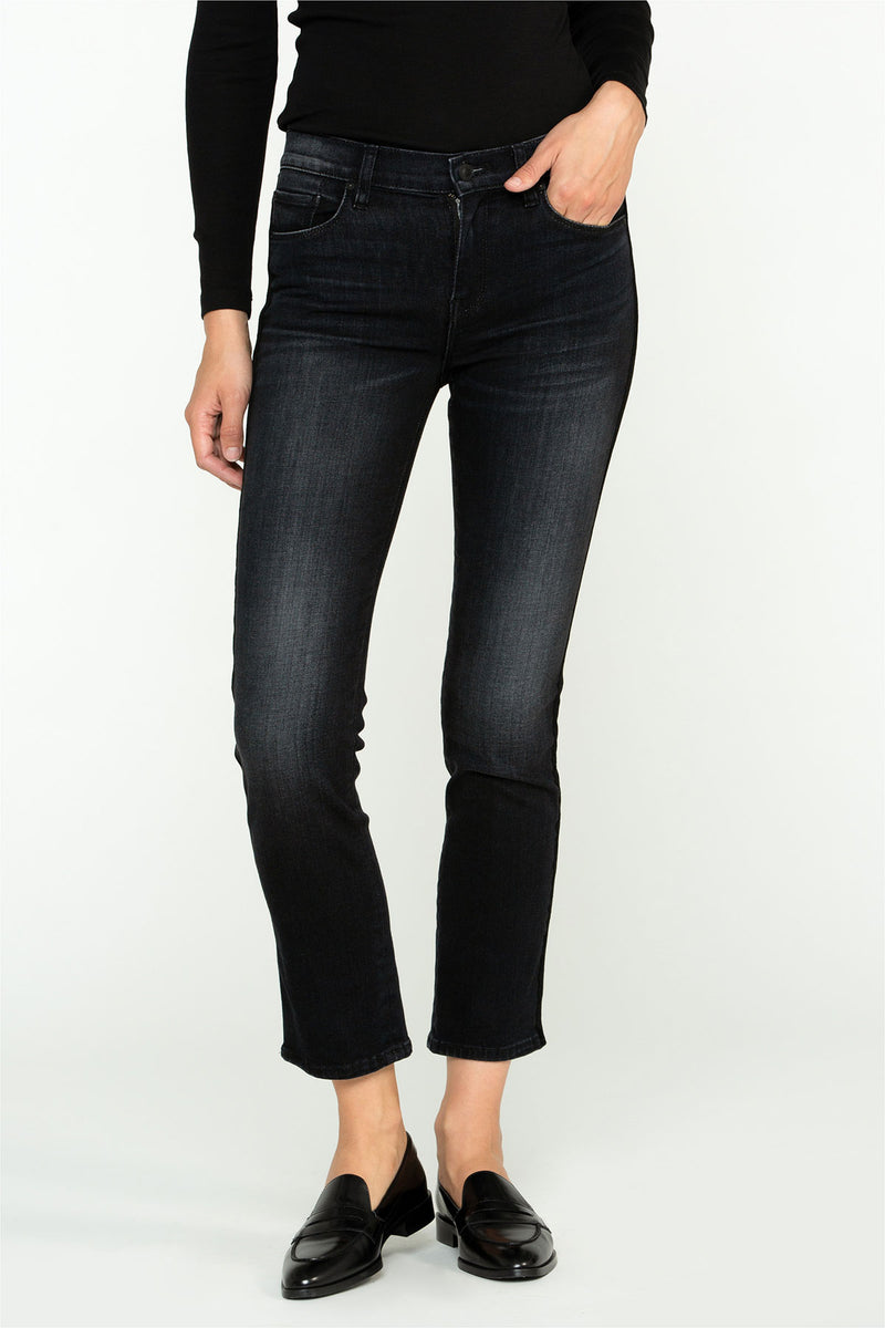Nico Mid-Rise Straight Crop Jean - hudsonjeans