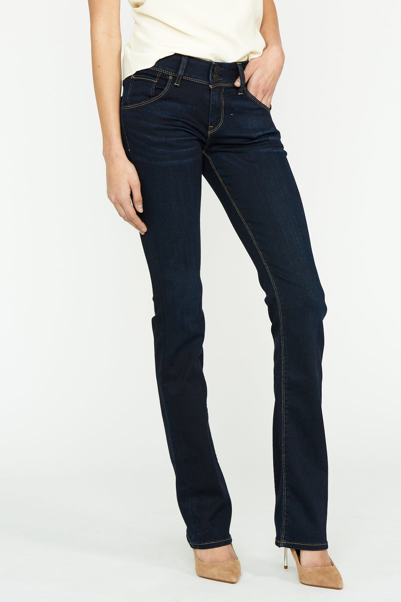 Beth Mid-Rise Baby Bootcut Petite Jean - hudsonjeans