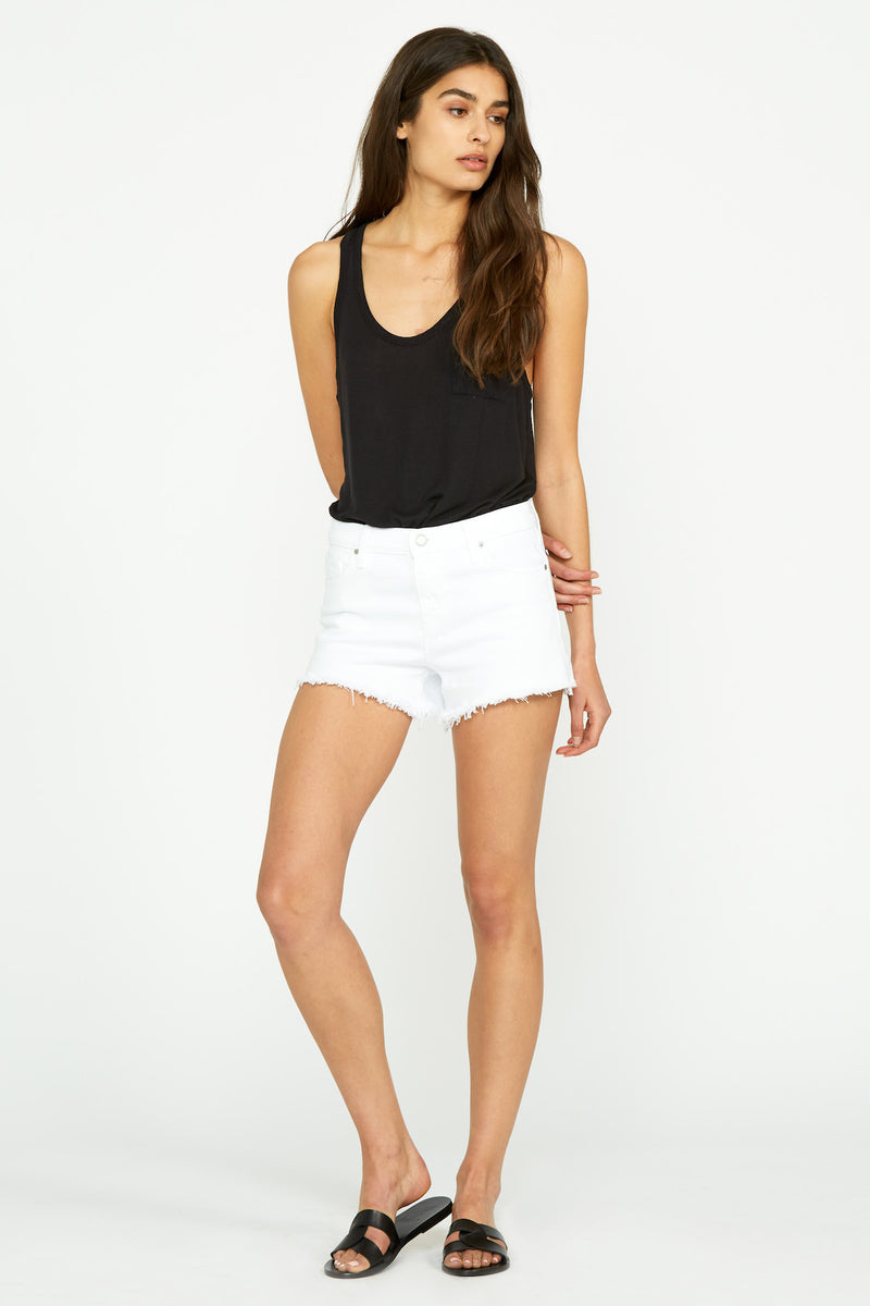Sloane Long Cut Off Short