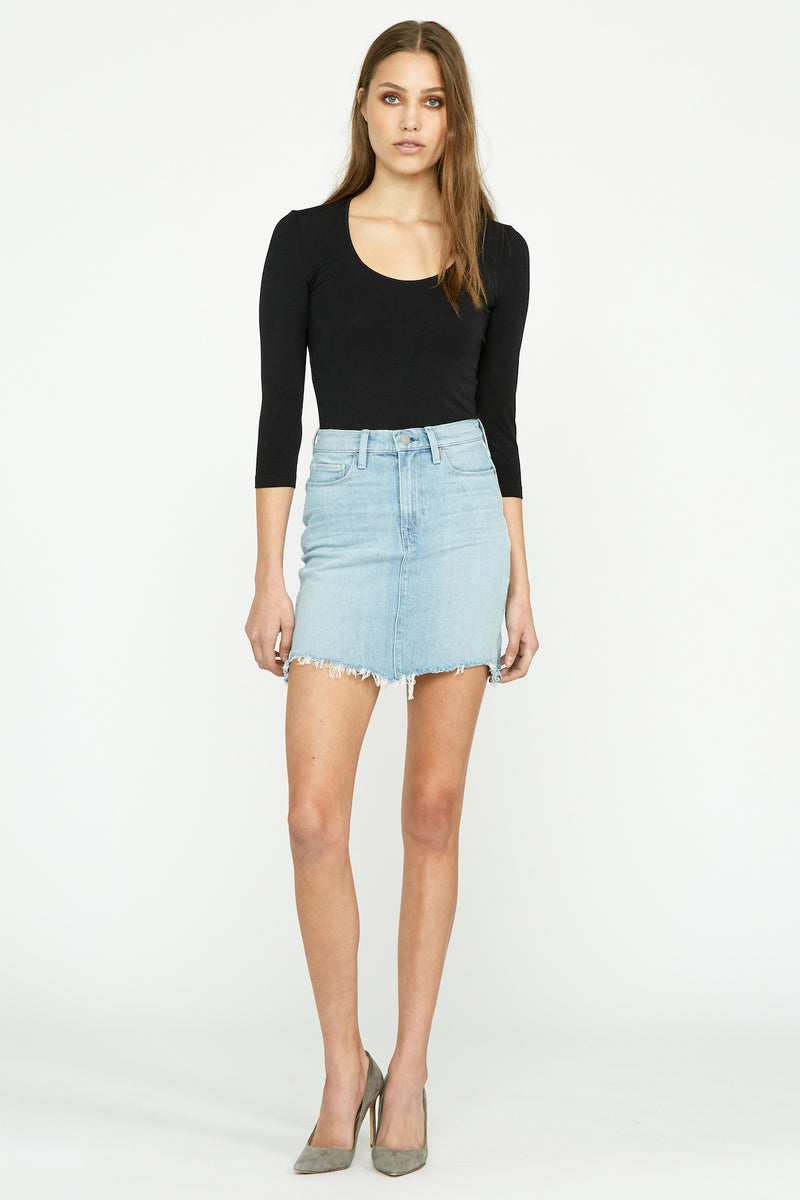 Lulu Denim Skirt - hudsonjeans