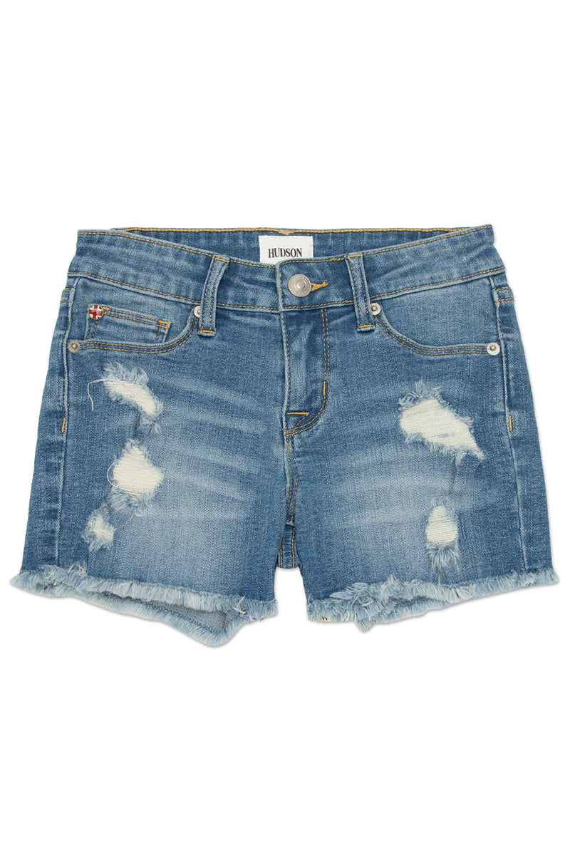 GIRLS AVA SHORT, SIZES 2T-6X - ILLUSTRION BLUE - Image 1