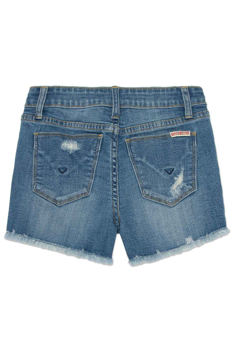 GIRLS AVA SHORT, SIZES 2T-6X - ILLUSTRION BLUE - Image 2