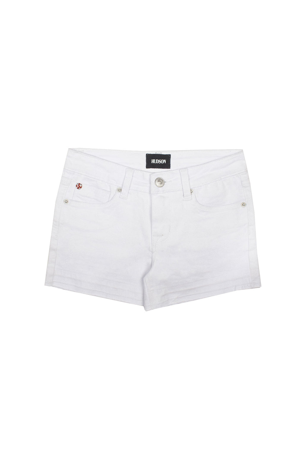 GIRLS AVA SHORT, SIZES 2T-6X - WHITE - Image 1