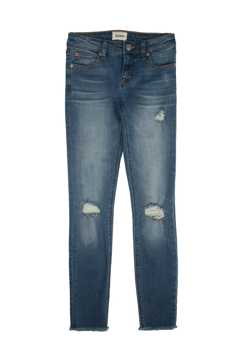 GIRLS ANKLE SKINNY JEAN, SIZES 2T-6X - NORTHERN LIGHT - Image 1