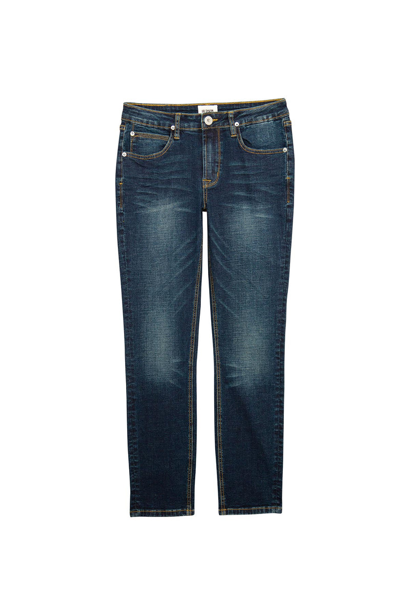 BOYS JAGGER SLIM STRAIGHT JEAN, SIZES 2T-7 - NORTON WASH - Image 1