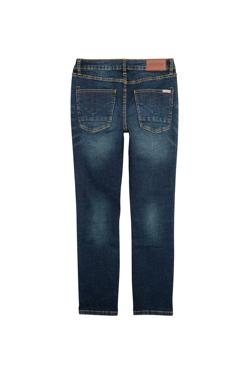 BOYS JAGGER SLIM STRAIGHT JEAN, SIZES 2T-7 - NORTON WASH - Image 2