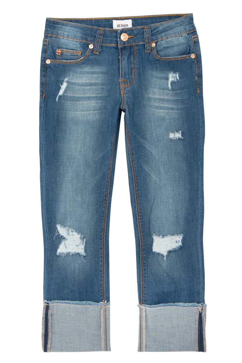 GIRLS JESSA CROP JEAN, SIZES 7-16 - JETTY - Image 1